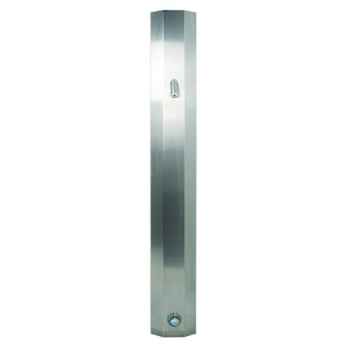 DVS Ceiling-Height Push Time-Flow Tower Shower with High Security Showerhead
